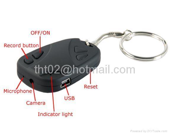 digital car key Camera spy Recorder usb pen hidden video camera  1