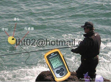 """Fish Finder with Sonar sensor 9 meter cable 2"""" Anti-UV LCD Freeshipping"""