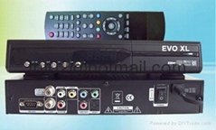 AZbox EVO XL digital satellite receiver DVB
