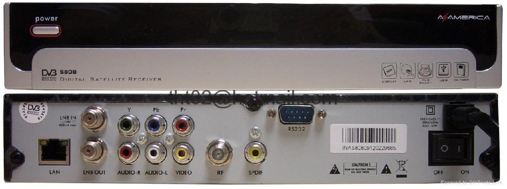 AZbox s808 衛星接收機DVB USB PVR