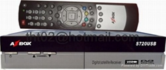 AZbox S720 机顶盒电视接收器DVB USB PVR