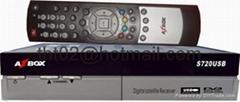 AZbox S720 機頂盒電視接收器DVB USB PVR