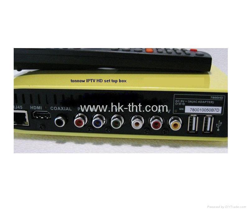 IPTV 7800HD 網絡高清機頂盒 5