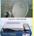 Dreambox Astro91.5 satellite receiver DM500S DVB-S only can be used in Malaysia 1