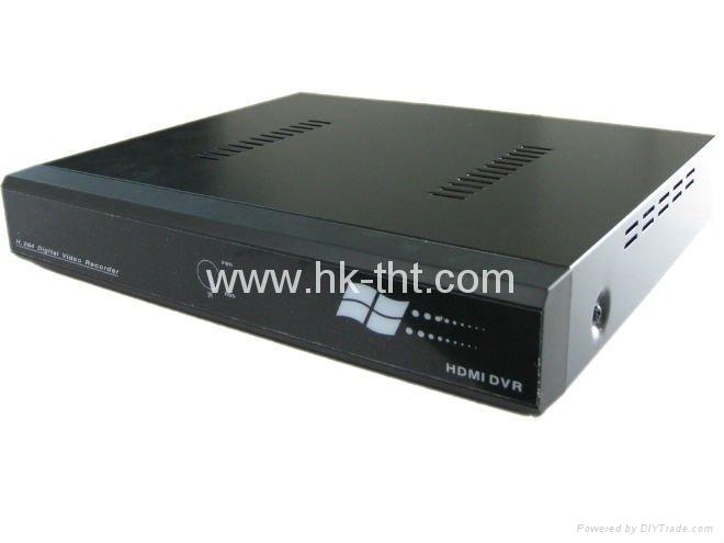 4CH DVR H.264 compression, DVR recorder support SATA