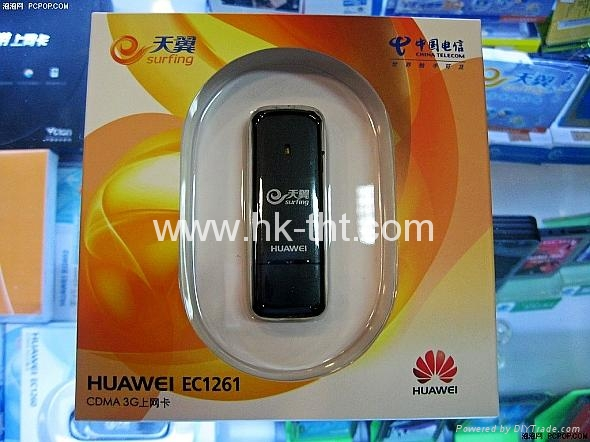 Huawei EC1261 CDMA/EVDO USB Wireless network card  3G Modem  5