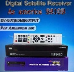 AzAmerica S810B高清卫星接收机DVB-S标准