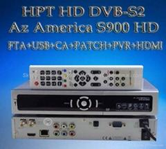 Azamerica S900HD高清接收机DVB-HD标准