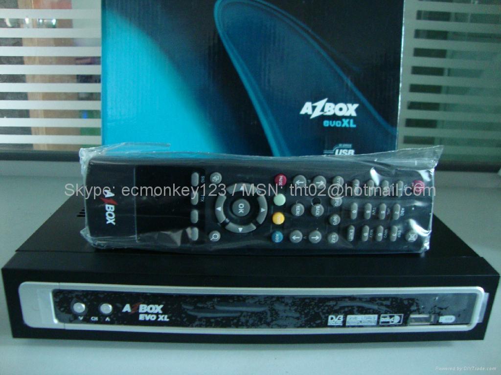 AZbox EVO XL digital satellite receiver DVB HD model DVB-S2
