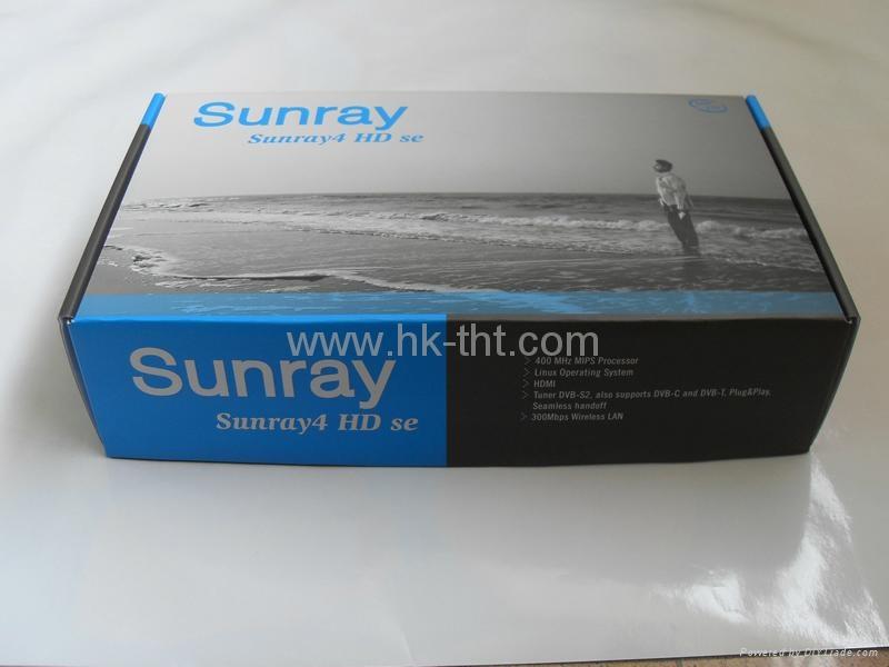 Sunray SR4-WiFi - S, C, T tuner 3-in-1 DM800SE Sunray HD 800se