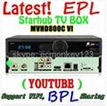 15PCS MVHD800C VI Singapore Cable box Dreambox Support Nagra3 watching EPL&HD