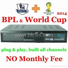 2014 starhub box singapore hd HD-C600 support World Cup and BPL HD channels