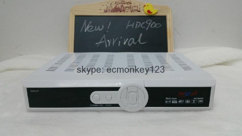 新加坡專用星河高清機頂盒MUXHDC900SE能看 BPL & 高清頻道和World Cup  1
