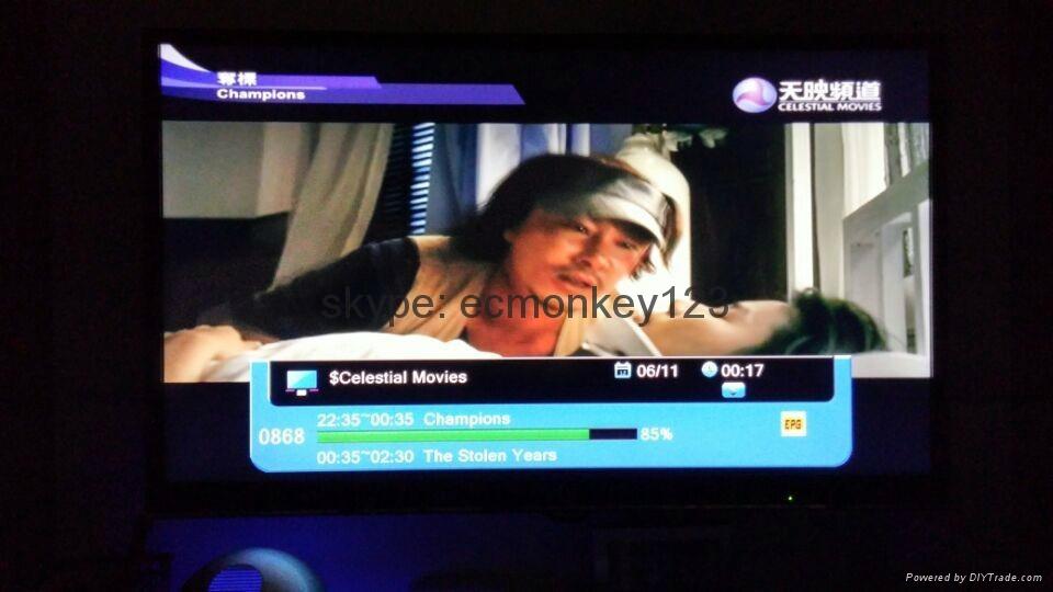 新加坡專用星河高清機頂盒MUXHDC900SE能看 BPL & 高清頻道和World Cup  12