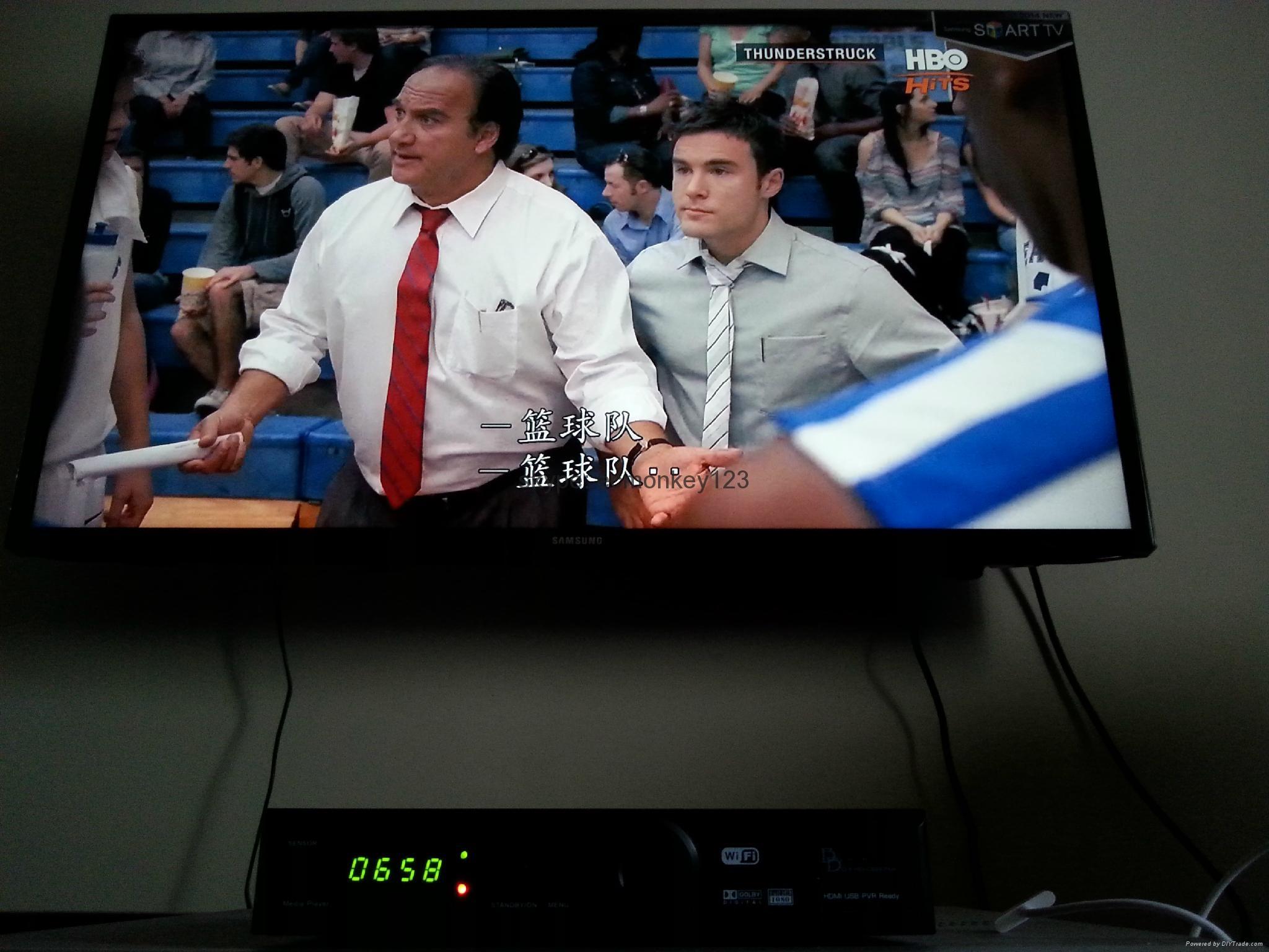 2015 singapore starhub tv box  QBOX5000HDC QBOX4000HDC Black box  support BPL HD 12