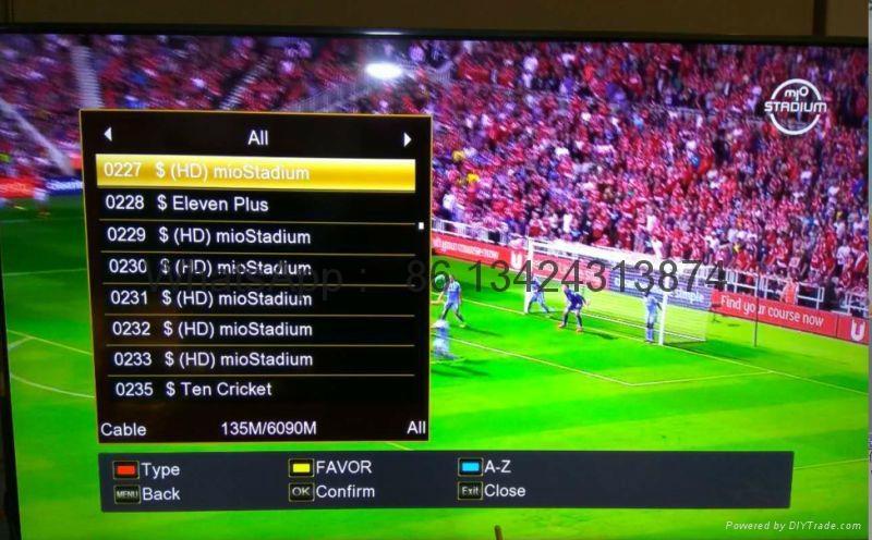 2017 latest stable singapore starhub tv box V9 Pro box  support EPL 14