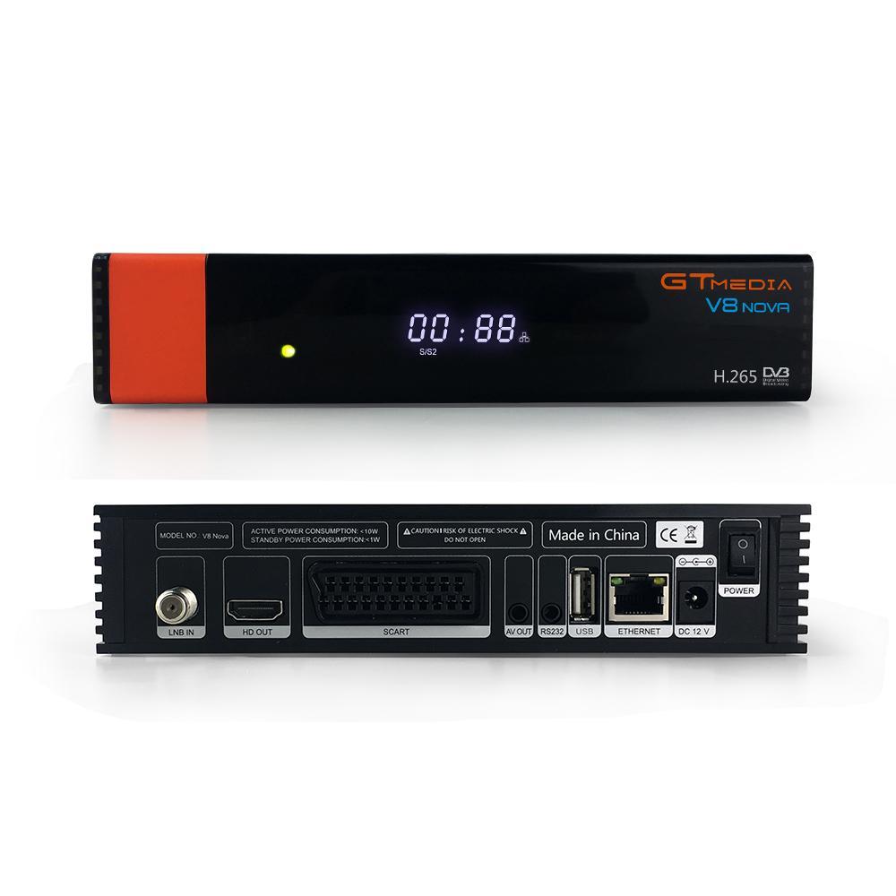 原厂 GTMEDIA V8 NOVA 支持H.265,内置wifi, v8super升级款 2