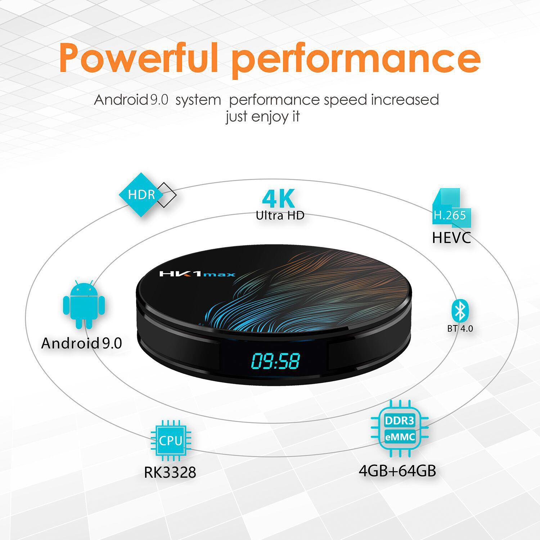 安卓盒子HK1MAX  安卓9.0 4K 3