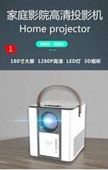 2021 安卓智能投影仪 智能投影 家用高清投影仪