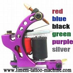 Aluminum Frame 10 Wrap Coils Tattoo Machine