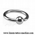 Piercing Jewelry Rings BCR 316L Surgical