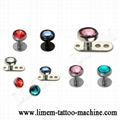 Piercing Jewelry Titanium G23 Dermal Anchor Skin Diver