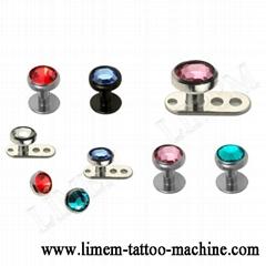 Piercing Jewelry Titanium G23 Dermal Anchor Skin Diver