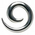 316L Surgical Ear Stretcher ear Expander Ear Tunnel Ear Plug Piercing jewelry