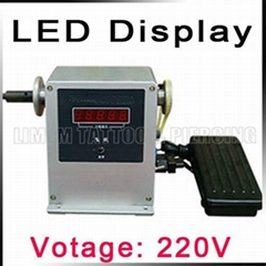 LED display electric tattoo coil winding machine tattoo coil wrap machine