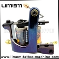 Handmade Iron Professional Tattoo Machine 10 Wrap Coils