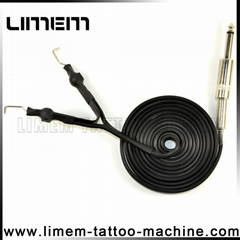 Heavy Duty Super high quality Tattoo Power Supply Clip Cord Silicone Cable
