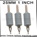 Grey 1 Inch 25mm Tattoo Silicone