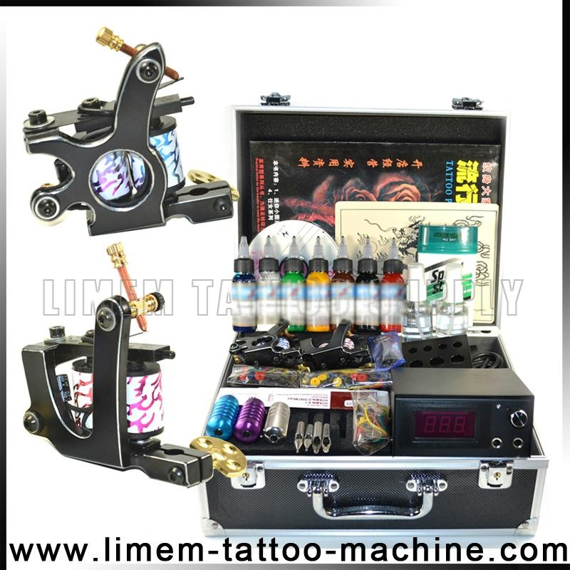 Professional tattoo kit wit liner and shader tattoo for At home tattoo kit