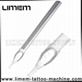 2016 new premium quality tattoo disposable tip clear color precision tip OEM