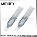 2016 new smoke black tattoo disposable tip clear color precision tip Can OEM