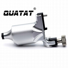 High quality QUATAT rotary tattoo machine silver OEM Accepted