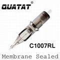 QUATAT Membrane Cartridge Round Liner Bugpin Super Long Taper C1007RL