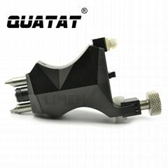 High quality QUATAT rotary tattoo machine black QRT09 OEM Accepted