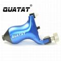 High quality QUATAT rotary tattoo machine QRT15 Black OEM Accepted
