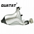 High quality QUATAT rotary tattoo machine QRT15 Silver OEM Accepted