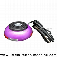 Heavy Duty Round 360 Tattoo Foot Pedal Foot Switch Purple