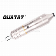 High quality QUATAT tattoo needle cartridge pen rotary machine silver