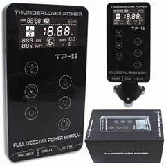 High Quality Digital touch screen tattoo power supply