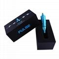 PULSE  tattoo needle cartridge pen rotary machine Siver