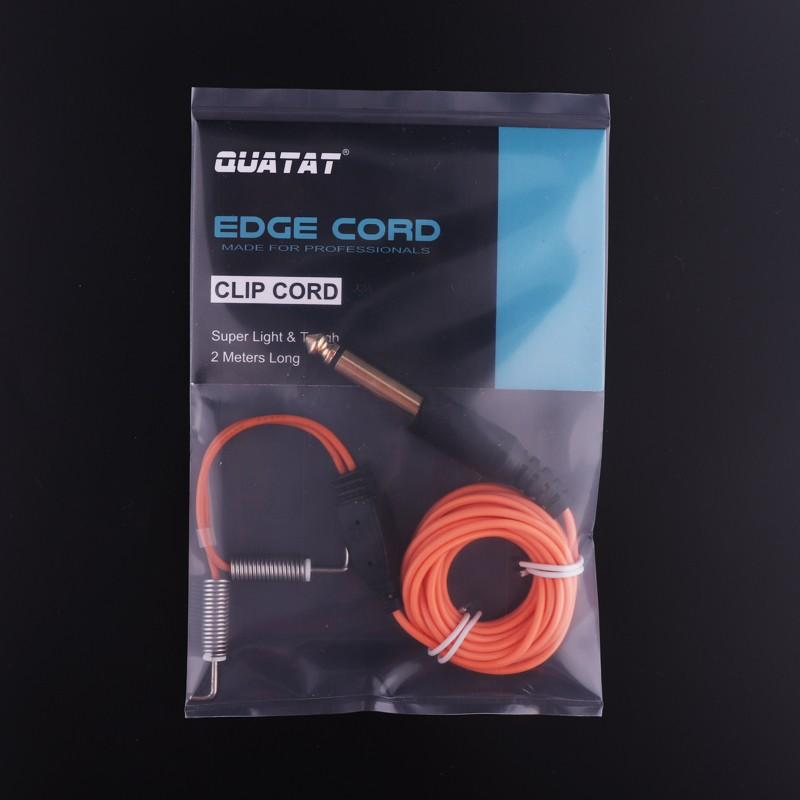 QUATAT EDGE TATTOO COIL MACHINE CLIP CORD