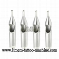 Tattoo Stainless Steel Round Tip