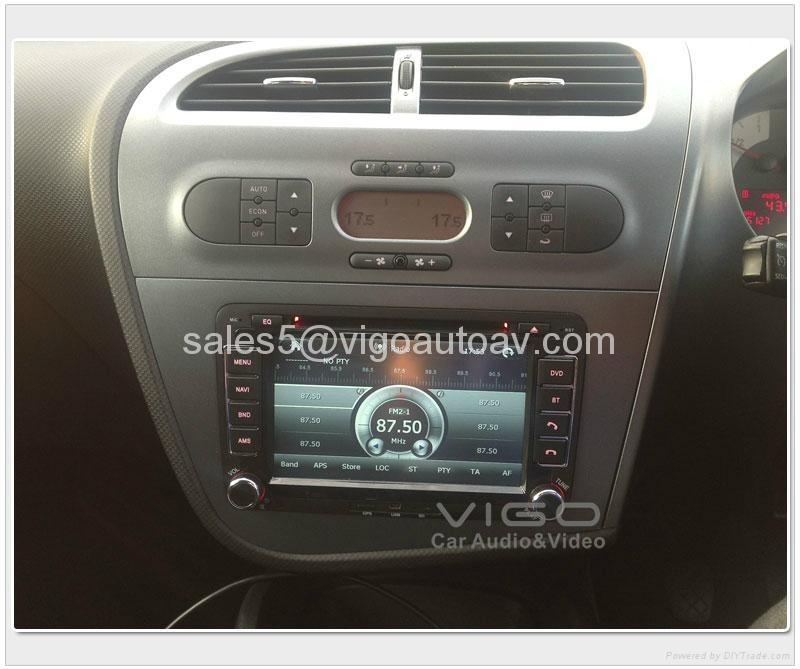 seat leon altea toledo car radio gps navi dvd in car gps stereo system vst8806 vigo china. Black Bedroom Furniture Sets. Home Design Ideas