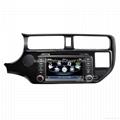 Car stereo for Kia K3 RIO GPS Satnav