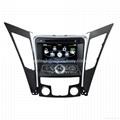 Hyundai Sonata 2011 Car Stereo GPS Sat
