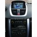 Car Stereo for Peugeot 207 GPS SatNav